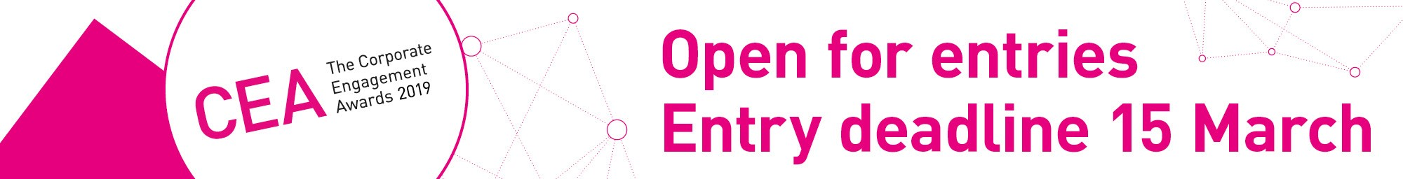 Corporate Engagement Awards - Open for entries